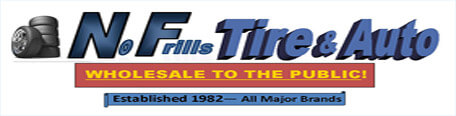 No Frills Tire Wholesale, Inc.  — Open to the Public!