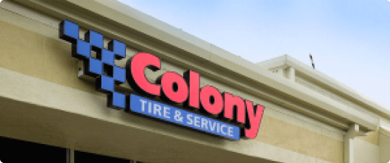 Colony Tire & Services Store Front