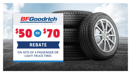 Yokohama and BFGoodrich Offers