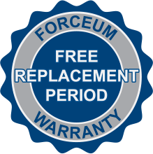 Free Replacement Period Logo
