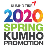 Purchase four (4) qualifying Kumho Tires between March 1st and June 30th, 2020  and get up to $100 on a Kumho Tire Visa Prepaid Card.
