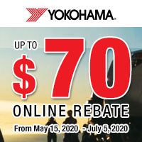 rebate image for Yokohama Summer Rebate Offer 2020
