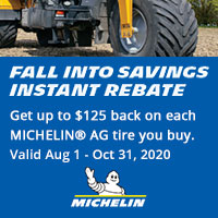 rebate image for Michelin AG Fall Into Savings Instant Rebate