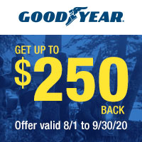 rebate image for Goodyear Fall 2020 Rebate