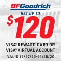 Get a $40*, $80* or $120* Visa® Reward Card after online submission*