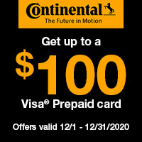 rebate image for Continental Get Up To $100