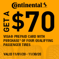 rebate image for Continental Get a $70 Visa Prepaid Card
