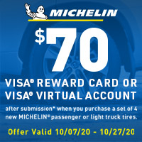Get a $30*, $50* or $70* Visa® Reward Card or Visa® Virtual Account after online submission