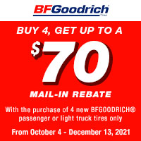 Buy 4, get up to a $70 Mail-in Rebate