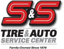 S&S Tire & Auto Service Center Logo