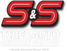 S&S Tire & Auto Service Center Logo Two