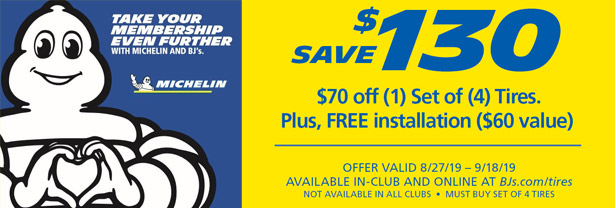 Special Offers | BJ's Tire Center