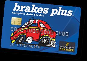 Brakes Plus Credit Card