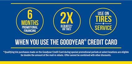 Goodyear Financing Info