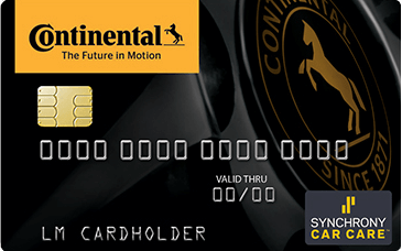 Continental Financing Card
