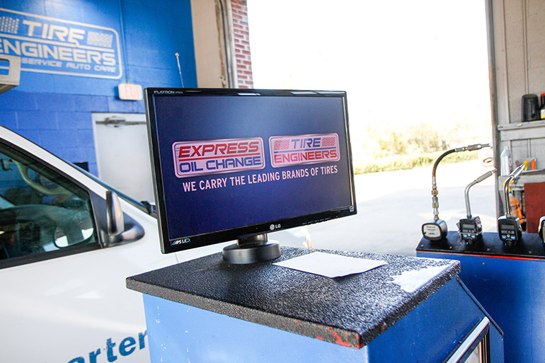 Express Oil Change & Tire Engineers POS Terminal