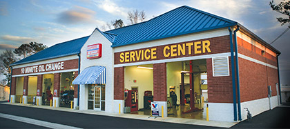 express oil change & service center store