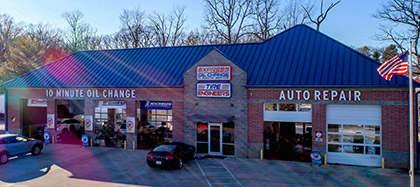 Express Oil Change & Tire Engineers Greensboro, NC - Pisgah Church store