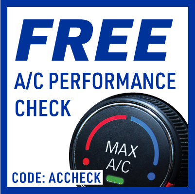 Free A/C inspection & pressure check