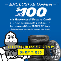 rebate image for Michelin Fall Promotion