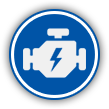 engine repair service icon