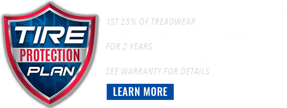 tire protection plan banner headline