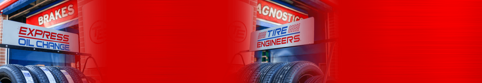 tire banner background