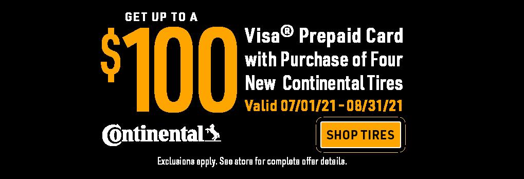 Continental promo banner headline