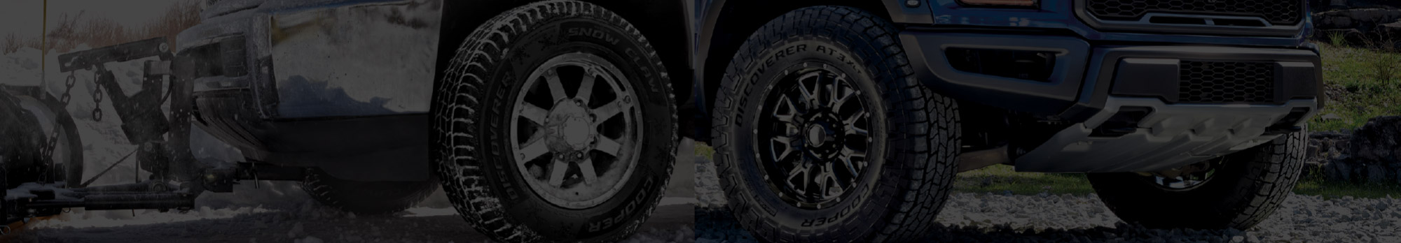 Cooper Tires banner background