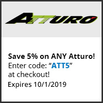Save 5% on ANY Atturo! Enter code