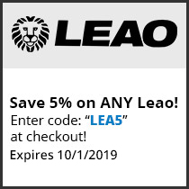 Save 5% on ANY Leao! Enter code