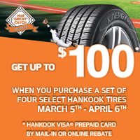 rebate image for Hankook 2018 Great Catch Rebate