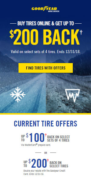 Goodyear 2018 Rebate Flynn S Tire Auto Service