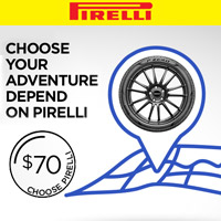 Buy 4 qualifying Pirelli tires from May 11 to June 4, 2018 and get a $70 Prepaid Mastercard® Card via mail-in rebate.