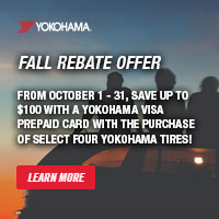 rebate image for Yokohama Fall Rebate 2018
