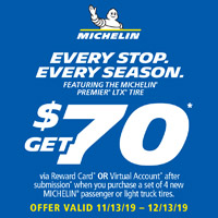 rebate image for Michelin $70 Rebate