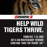rebate image for Uniroyal Help Wild Tigers Thrive Rebate
