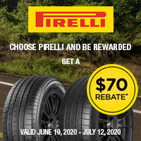 Get up to $70 Prepaid Mastercard by mail when you purchase a set of four select Pirelli tires.