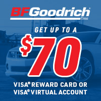 rebate image for BFGoodrich Get Up To $70