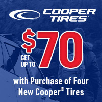 rebate image for Cooper Tires Fall 2021 Rebate