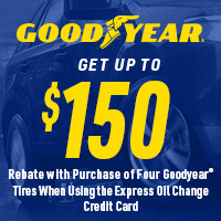rebate image for Goodyear Get Up To $150