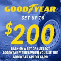 rebate image for Goodyear Get Up To $200